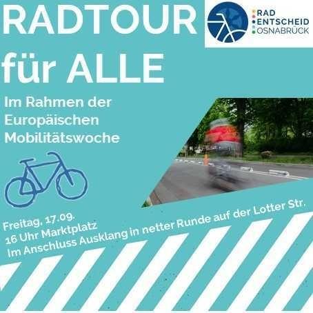 """""""Radtour für Alle"""" – Fahrraddemo zum Parking Day"""