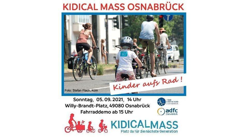 Kinder aufs Rad – KIDICAL MASS